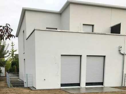 Erstbezug einer neu erbauten Doppelhaushälfte in sehr ruhiger Lage in Walldorf.
