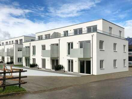 Wohnen im Alter! Barrierefreie Neubauwohnung mit 2 TG-Stellplätzen in schöner Wohnanlage in Ertingen