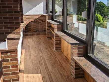 Erstbezug nach Sanierung: freundliche 1-Zimmer-Wohnung mit Balkon in Fränkisch-Crumbach