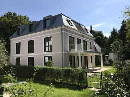 Sehr ruhiges 3 Zi. Penthouse in Altharlaching / Menterschwaige mit Dachterrasse und Privatlift