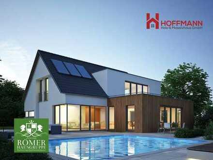 """nach Abriss: Top """"Römer""""-Villa/DHH, schlüsselfertig, incl. top (Seenähe) Grundstück Einzug 8 Monate"""