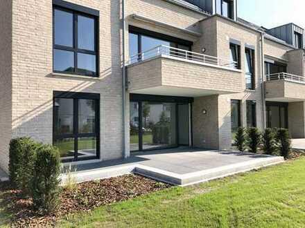 Neubau/Erstbezug Moderne 3-Zimmer-Wohnung mit großer Sonnenterrasse