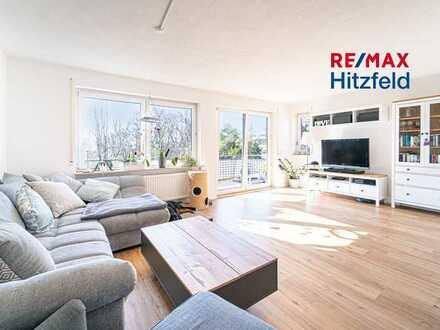 *Reserviert* Familientraum auf zwei Ebenen! 120 m², 5 Zimmer, 4 Balkone, Garten und Stellplatz in ru