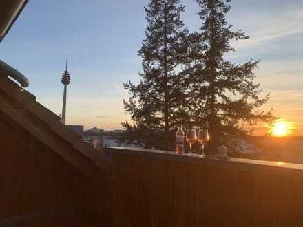 kleines Paradies über den Dächern Nürnbergs