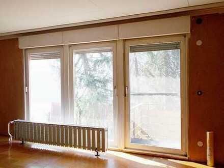 -*Sofort beziehbar* 3-Zimmer, Küche, Bad und Gartenanteil