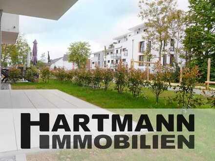 Neubau-Erstbezug! Modern ausgestattete 2-Zimmer-Wohnung mit Terrasse!