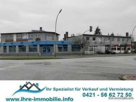 Bremerhaven-Leherheide: 8,7% Rendite! Gr. Wohn-/Geschäftshaus mit Anbau, 3 WHG, 3 Gew.Einh., BJ:1994