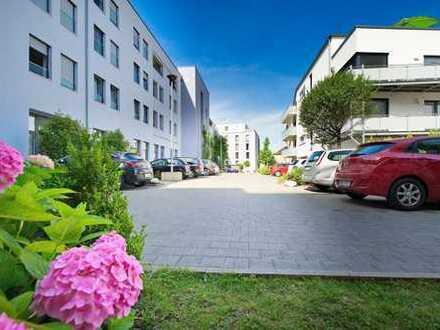 exklusives modernes Wohnen in der City mit eigenem Gartenanteil