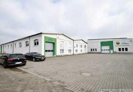 Senftenberg, ca. 6.594 m² hochwertige Lager- und Produktionsflächen inkl. Büro