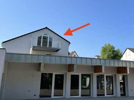 Hochwertige Dachwohnung mit Balkon zum Erstbezug