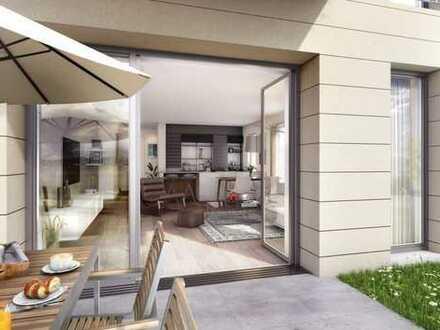 Charmantes 2-Zimmer-Apartment mit Süd-Terrasse und gehobener Ausstattung