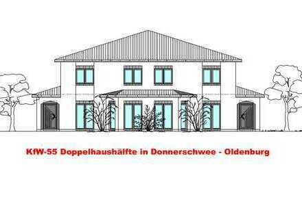 KfW-55 Doppelhaushälfte Schlüsselfertig - Donnerschwee