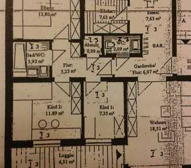 Gepflegte 4-Zimmer-EG-Wohnung mit Balkon und Garten in Münster-Handorf: Dorbaum.