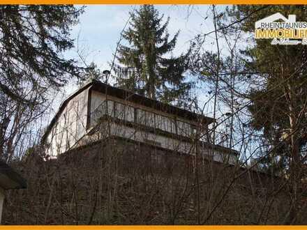 Sanierungsbedürftige Ferienhäuschen in Sitzendorf