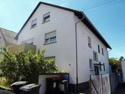 ~~TOP Anlageobjekt~~ 6-FH mit Garten & 3 Garagen, eine 2-Zi-Whg. wird frei, in KA-Neureut