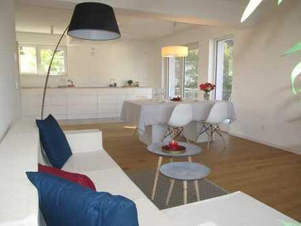 Neu kernsanierte 5 Zimmer Maisonettenwohnung, 2 Garagen, sehr gute Lage in Jugenheim, KfW Zuschuss
