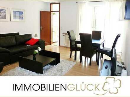 Einziehen & Wohlfühlen: Möblierte 2 Zimmer Wohnung mit Balkon