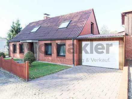 Wohntraum in Nordsee-Nähe: Attraktives EFH mit Einliegerwohnung, herrlichem Garten und Boots-Garage