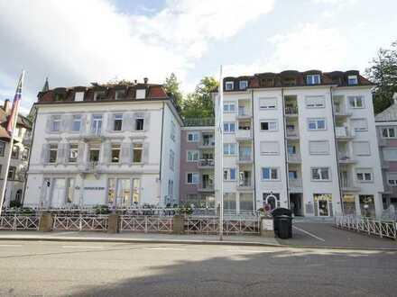 Stadtresidenz -  Etagenwohnung mit großer Dachterrasse in Baden-Baden! Nur 5 Gehminuten bis