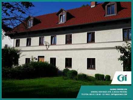 GI** 2 in 1: 4-Zi.-Maisonette Wohnung in Au i.d. Hallertau