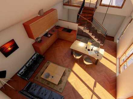 Provisionsfrei | Haus 4 | Wohnung 4 | 3 Zimmer mit Galerie, Balkon und Dachterrasse | Obergeschoss