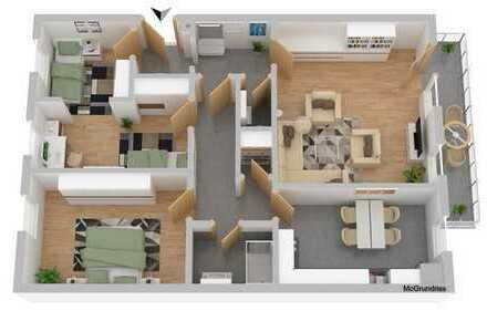 3-Zimmer-Wohnung in Forggenseenähe