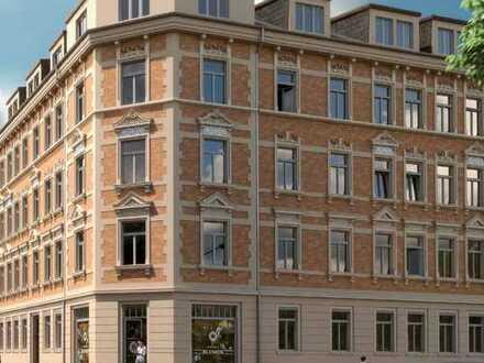 Erstbezug - mit Nähe zum Karl-Heine-Kanal! Gemütliche 2R-Wohnung mit Balkon und Garten! WE 02