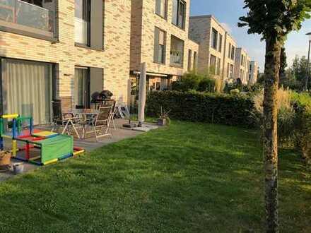 Ruhige und helle 3-Zimmer-Erdgeschosswohnung mit 2 Terrassen und kleinem Garten in Münster
