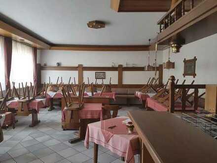 +++ Gaststätte mit Wohnungen, Gastroküche, Biergarten und Parkplätzen ABLÖSEFREI zu verpachten ! +++