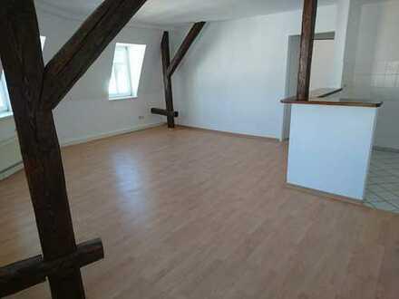 Perfekte Single-Wohnung mit offener Küche und Holzbalken, frisch saniert!