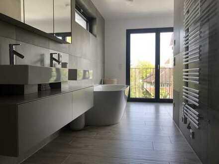 Stilvolle Maisonette-Wohnung im Herzen von Gauting mit Blick auf die Würm