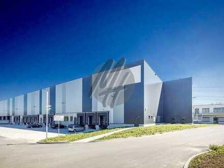 KEINE PROVISION ✓ NEUBAU ✓ Lager-/Logistik (2.000-10.000 m²) & Büro (500-2.000 m²) zu vermieten