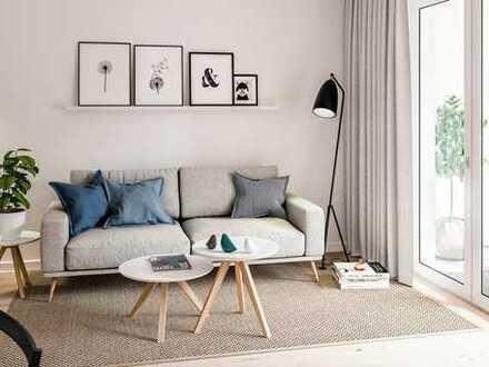 2 Zimmer auf 60 m² mit Loggia