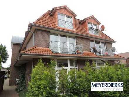 Wiefelstede, Hauptstraße: helle 3-Zimmer-Dachgeschosswohnung im Ammerland