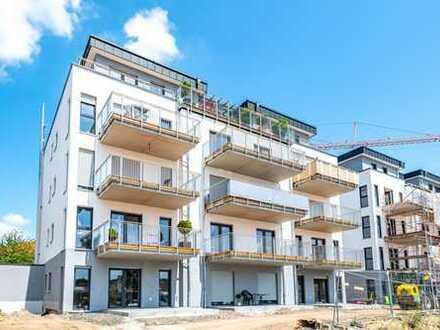 """Erlensee: """"Neubau-Erstbezug"""" - Wunderschöne 2 Zimmer-Wohnung mit tollem Grundriss & Süd-West Balkon"""