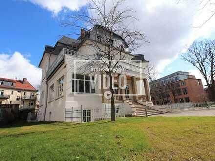 Kleine Benary-Villa - herrschaftliche Souterrain Wohnung mit zwei Terrassen