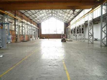 Interessantes Gewerbeanwesen - Produktionshallen, Lagerhallen, Bürogebäude und Freiflächen