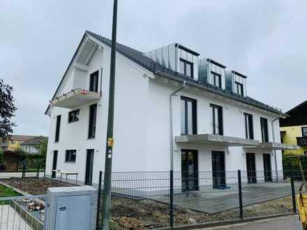 Erstbezug – Landshut/Wolfgang: Sehr schöne, helle 3-Zimmer-Wohnung mit großer Terrasse u. Garten