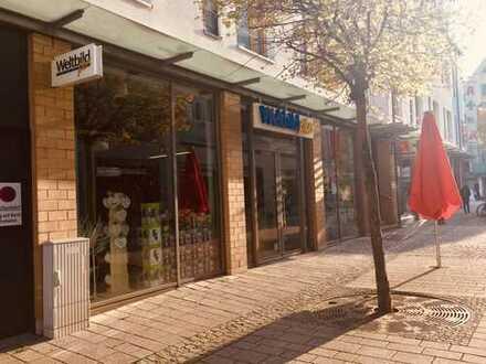 200 m² attraktives, gut sichtbares Ladengeschäft in der Innenstadt, Fußgängerzone