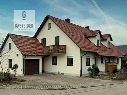 Sonnige Doppelhaushälfte idyllisch am Ortsrand gelegen.