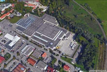 Bedarfsgerecht teilbare Produktions,Lager und Büroflächen in Mering