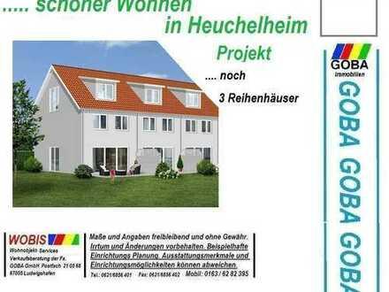 projektierte Reihenhäuser - mit Flair und Abendsonne - Garten Südwest