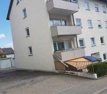 Sonnige 3-Zimmer-Wohnung mit Balkon in Albstadt-Ebingen