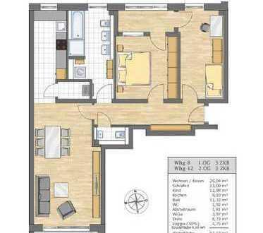 3-ZKB Wohnung in den Afragärten Friedberg (Haus 1)