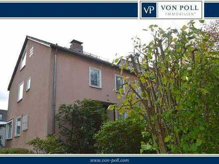 Bad-Wilhelmshöhe / Nähe Dönche: Großzügige DHH mit 2 Garagen und sonnigem Grundstück
