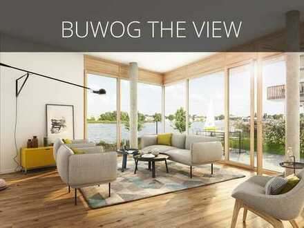 Auf gute Nachbarschaft! 3 Zimmer-Wohnung auf ca. 115 m² mit großem Wohn-Essbereich und Wasserblick