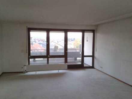 3-Zimmer-Wohnung mit großem Balkon