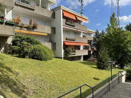 """Sonnige 4 Zimmer Wohnung mit Loggia+Balkon schöne Halbhöhenlage am """"Unteren Hardberg"""" mit Garage"""