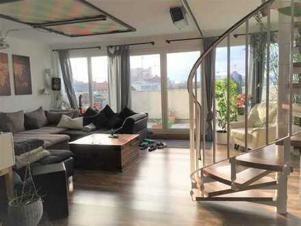 !!! Penthouse-Maisonette - 4,5 ZW mit riesiger Sonnenterrasse !!!
