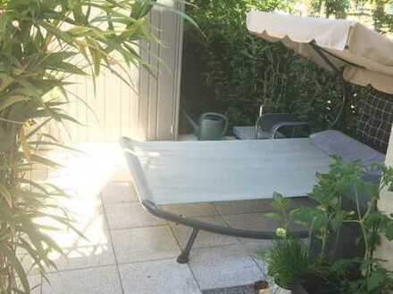 2 Zi. Whg. mit eigenem Garten und großzügiger Terrasse zunächst BEFRISTET bis 31.03.2022